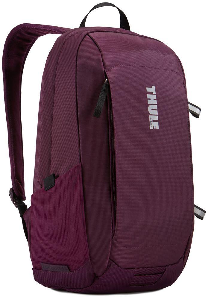 Рюкзак городской Thule EnRoute Daypack, цвет: спелая вишня, 13 л3203431Элегантный рюкзак объемом 13л с карманом SafeEdge для ноутбука и отделениями для хранения самых необходимых повседневных вещей.