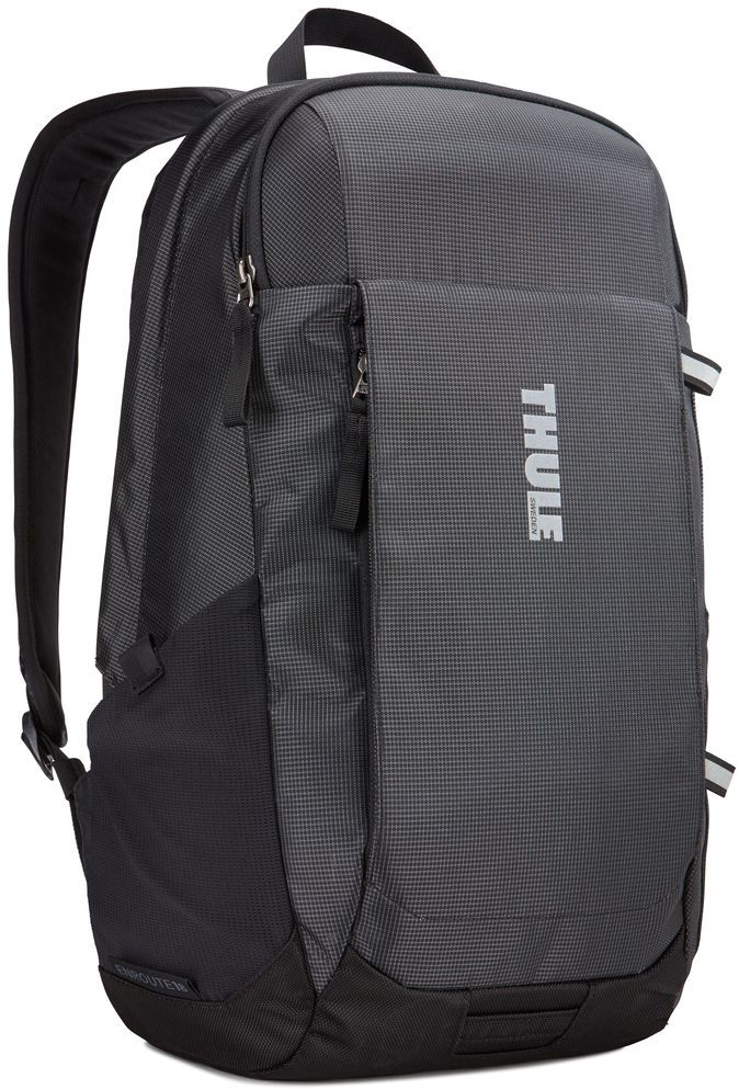 Рюкзак городской Thule EnRoute Daypack, цвет: черный, 18 лRivaCase 7560 blueЭтот рюкзак вместительностью 18л оснащен защитой для ноутбуков SafeEdge. Он отлично подходит как для повседневных поездок, так и для походов выходного дня.