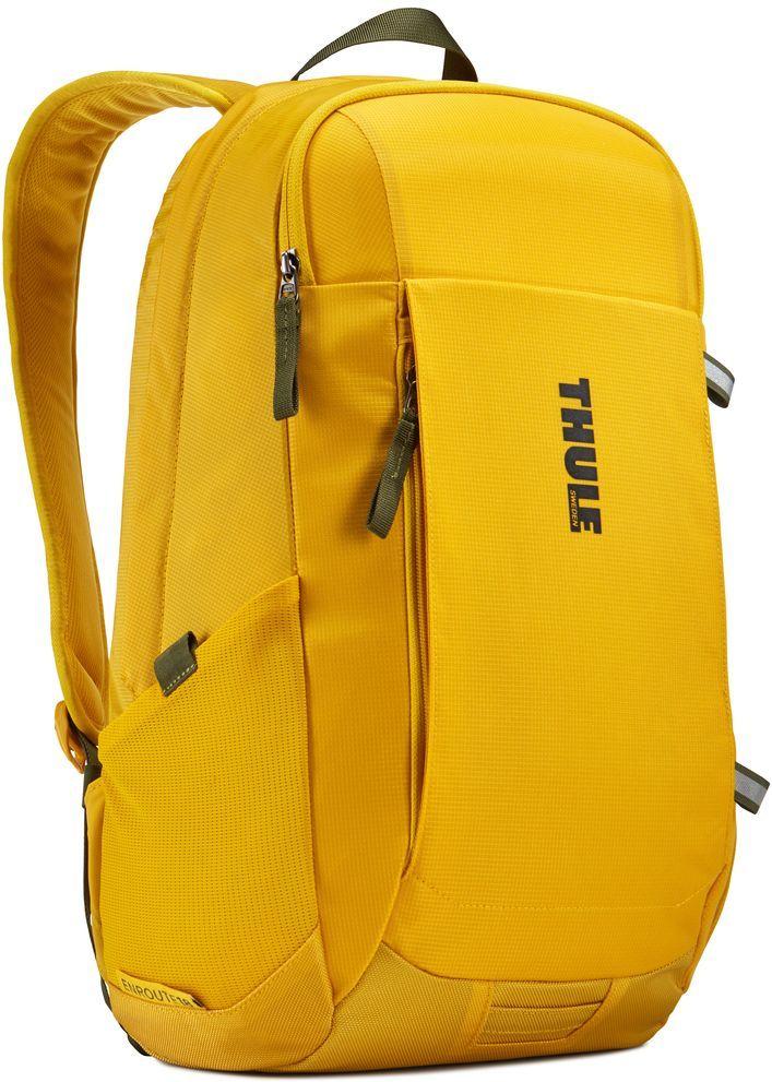 Рюкзак городской Thule EnRoute Daypack, цвет: горчичный, 18 л3203433Этот рюкзак вместительностью 18л оснащен защитой для ноутбуков SafeEdge. Он отлично подходит как для повседневных поездок, так и для походов выходного дня.