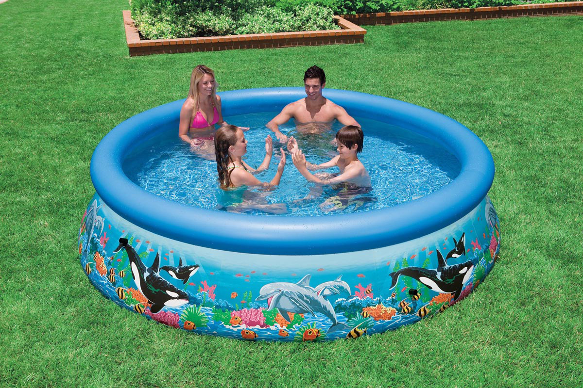 Надувной бассейн Intex  Easy Set. Риф Океана , 366 х 76 см. с54904 - Бассейны и аксессуары