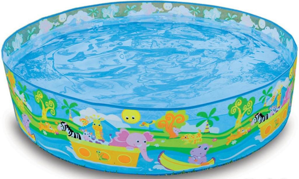 Надувной бассейн Intex Африка, 122 х 25 см, от 3 лет. с58474с58474Надувной бассейн Intex Африка небольшой бассейн, предназначенный для детей в возрасте 3-5 лет. Это легкий, прочный каркасный бассейн, который можно использовать как на свежем воздухе, так и в домашних условиях.Для установки требуется ровная устойчивая поверхность. Бассейн не занимает много места при хранении и перевозке, легко собирается.Характеристики:• Прозрачные стенки• Графика Веселые Динозавры• Емкость воды (24см): 288л