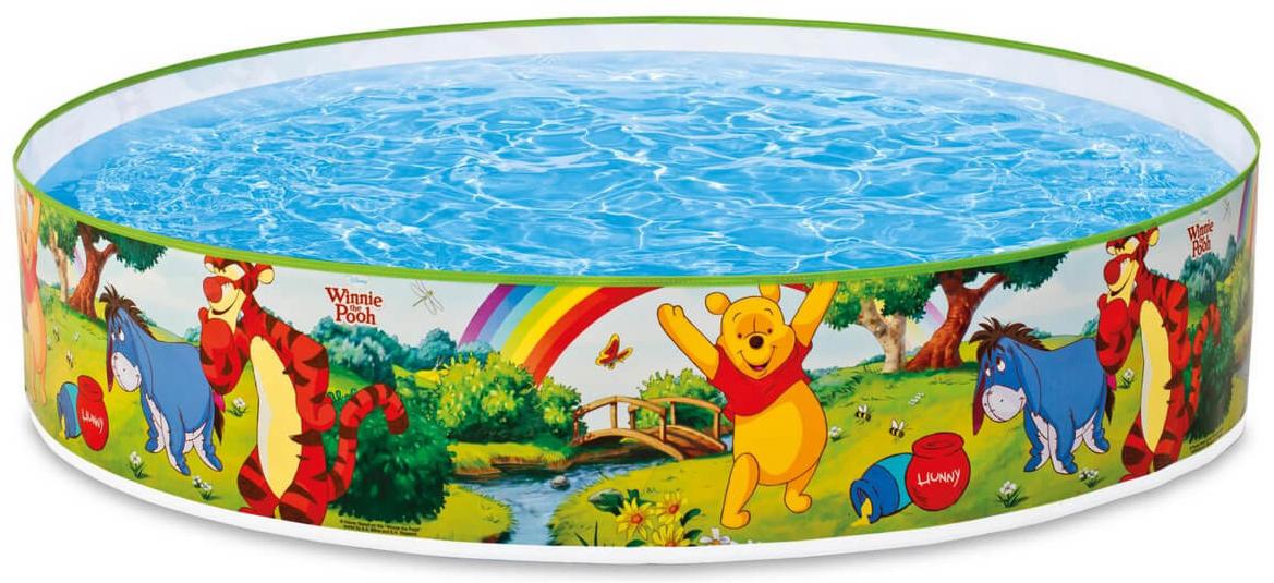 Бассейн жесткий Intex Винни Пух, 122 х 25 см, от 3 лет. с58475с58475Бассейн жесткий Intex Винни Пух - это прекрасный надувной бассейн, который предназначен для детей от 3-х лет. Мягкие надувные бортики добавят комфорта и уберегут ребёнка от травм. Модель изготовлена из высококачественного и прочного материала.Характеристики:• Вместимость воды: 288л