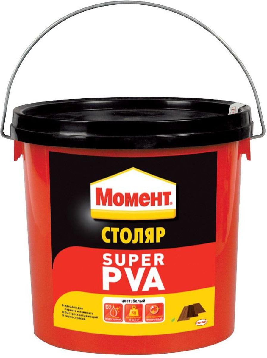 Клей Момент Super PVA, 3 кгK100Надежный клей Момент Super PVA предназначен для всех пород дерева, ДСП, ДВП, МДФ, фанеры, шпона, облицовочных материалов. Рекомендуется к применению при изготовлении окон и дверей, мебели для кухни или ванной, для монтажного склеивания деревянных изделий и деталей, подверженных влиянию влажной среды. Обеспечивает надежный прозрачный клеевой шов.