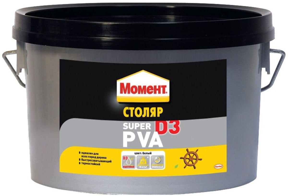 Клей Момент Супер ПВА D3, 2 кг106-026Клей Момент Супер ПВА D3 предназначен для всех пород дерева, ДСП, ДВП, МДФ, фанеры, шпона, облицовочных материалов. Рекомендуется к применению при изготовлении окон и дверей, мебели для кухни или ванной, для монтажного склеивания деревянных изделий и деталей, подверженных влиянию влажной среды. Обеспечивает надежный прозрачный клеевой шов.