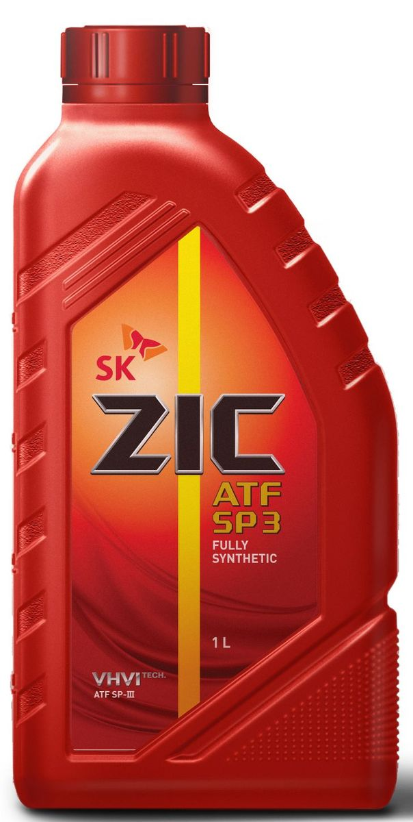 Масло трансмиссионное ZIС ATF SP 3, 1 л. 132627