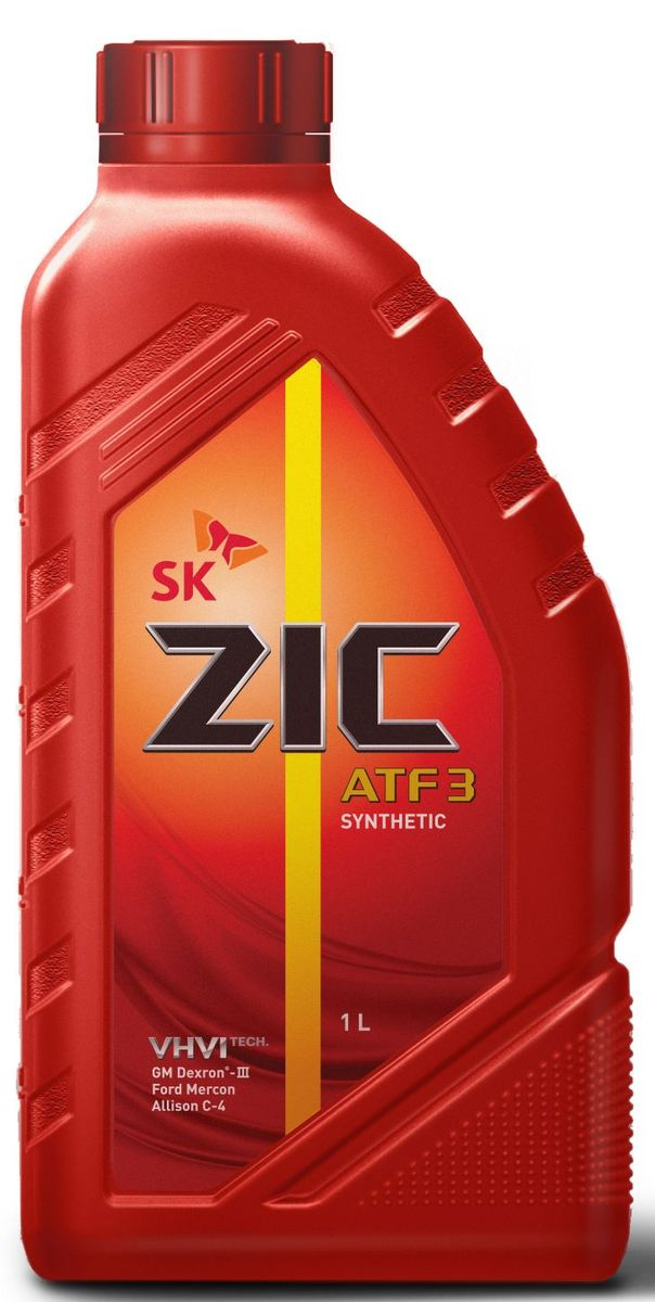 Масло трансмиссионное ZIС ATF 3, 1 л. 132632