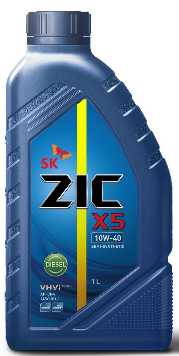 Масло моторное ZIC X5 Diesel, полусинтетическое, класс вязкости 10W-40, API CI-4, 1 л. 132660S03301004Всесезонное полусинтетическое моторное масло высшего качества ZIC X5 Diesel предназначено для дизельных двигателей малого и среднего объемов. Изготовлено на основебазового масла YUBASE и сбалансированного пакета современных присадок. Адаптировано к дизельному топливу российских стандартов. Плотность при 15°C: 0,8507 г/см3.Температура вспышки: 240°С. Температура застывания: -37,5°С.
