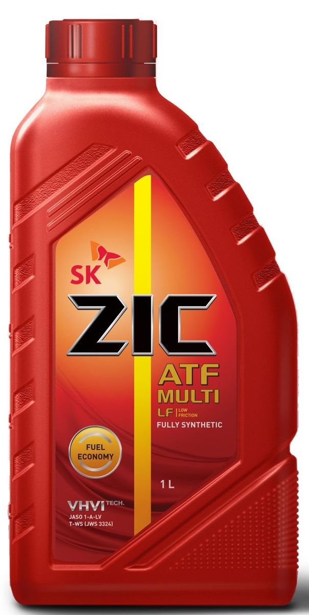 Масло трансмиссионное ZIС ATF Multi LF, 1 л. 13266580621ZIС ATF Multi LF - универсальное синтетическое трансмиссионное масло с пониженной вязкостью для автоматических коробок передач нового поколения.Плотность при 15°C: 0,85 г/см3.Температура вспышки: 208°С. Температура застывания: -51°С.Индекс вязкости: 157.