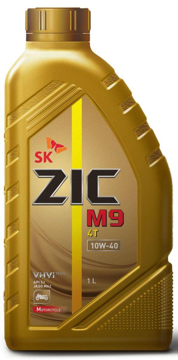 Масло моторное ZIC M9 4Т, синтетическое, класс вязкости 10W-40, API SN, 1 л. 137210101545Полностью синтетическое моторное масло премиум-класса ZIC M9 4Т предназначено для использования в 4-х тактных двигателях самых современных высокофорсированных мотоциклов. Синтетическая основа и комплекс специальных присадок гарантирует исключительную надежность работы двигателя и сцепления в условиях экстремальных нагрузок.