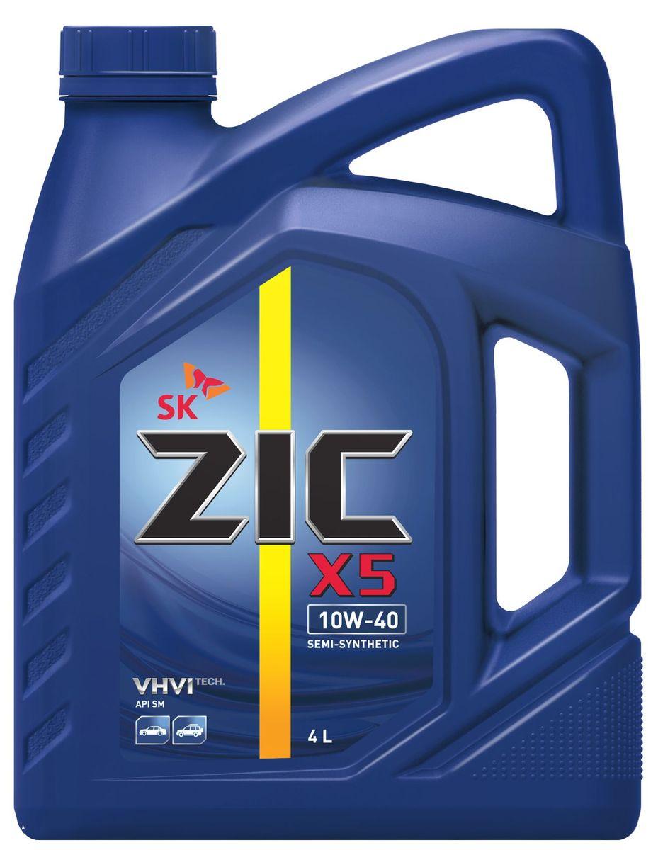 Масло моторное ZIC X5, полусинтетическое, класс вязкости 10W-40, API SM, 4 л. 162622S03301004Всесезонное полусинтетическое моторное масло ZIC X5 предназначено для бензиновых двигателей и обеспечивает надежную защиту. Изготовлено на основе базового масла YUBASE и сбалансированного пакета современных присадок. Плотность при 15°C: 0,8466 г/см3.Температура вспышки: 240°С. Температура застывания: -40°С.Индекс вязкости: 170.