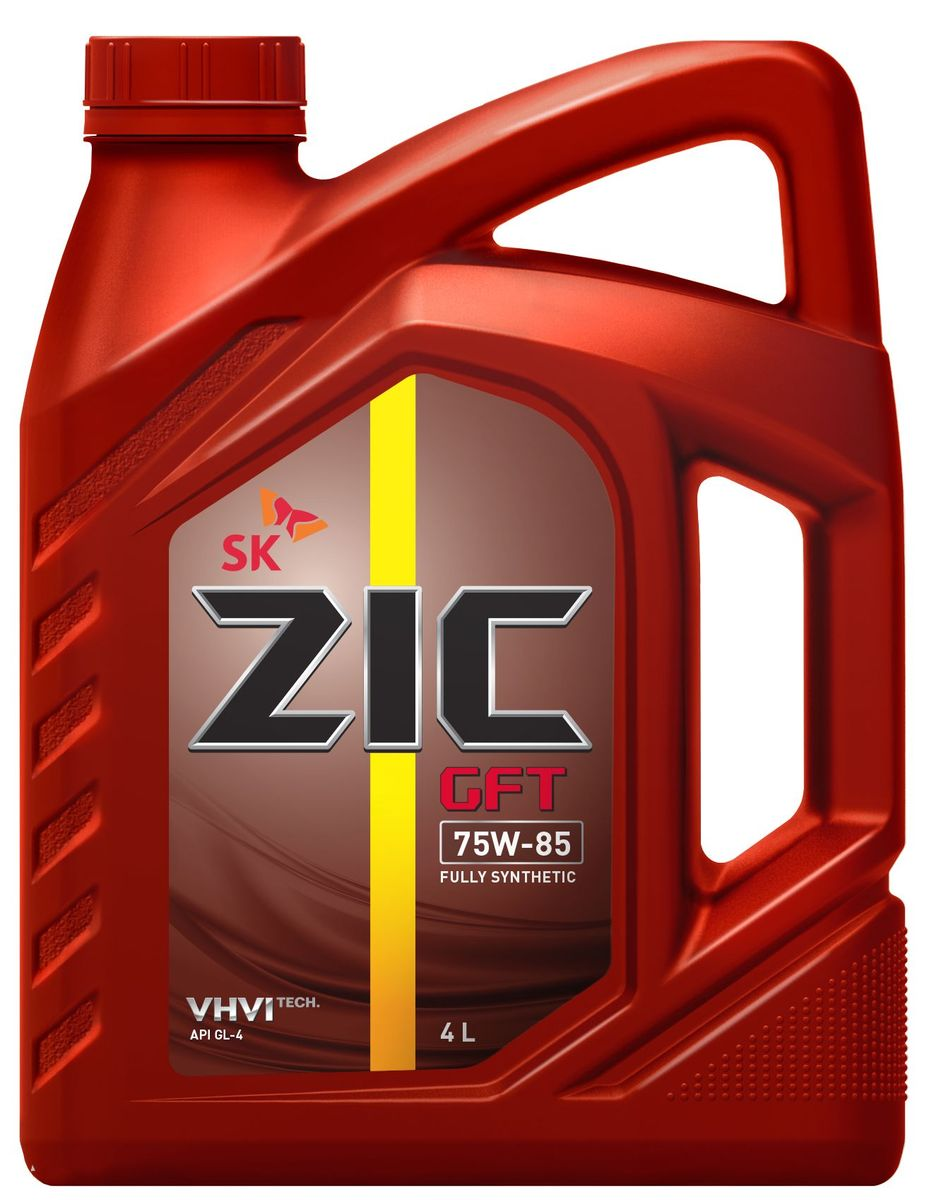 Масло трансмиссионное ZIС GFT,классвязкости75W-85,APIGL-4, 4 л. 162624S03301004ZIС GFT - полностью синтетическое трансмиссионное масло для механических коробок передач и ведущих мостов. Является маслом первой заливки на заводах Hyundai и KIA. Плотность при 15°C: 0,8569 г/см3.Температура вспышки: 226°С. Температура застывания: -50°С.Индекс вязкости: 206.