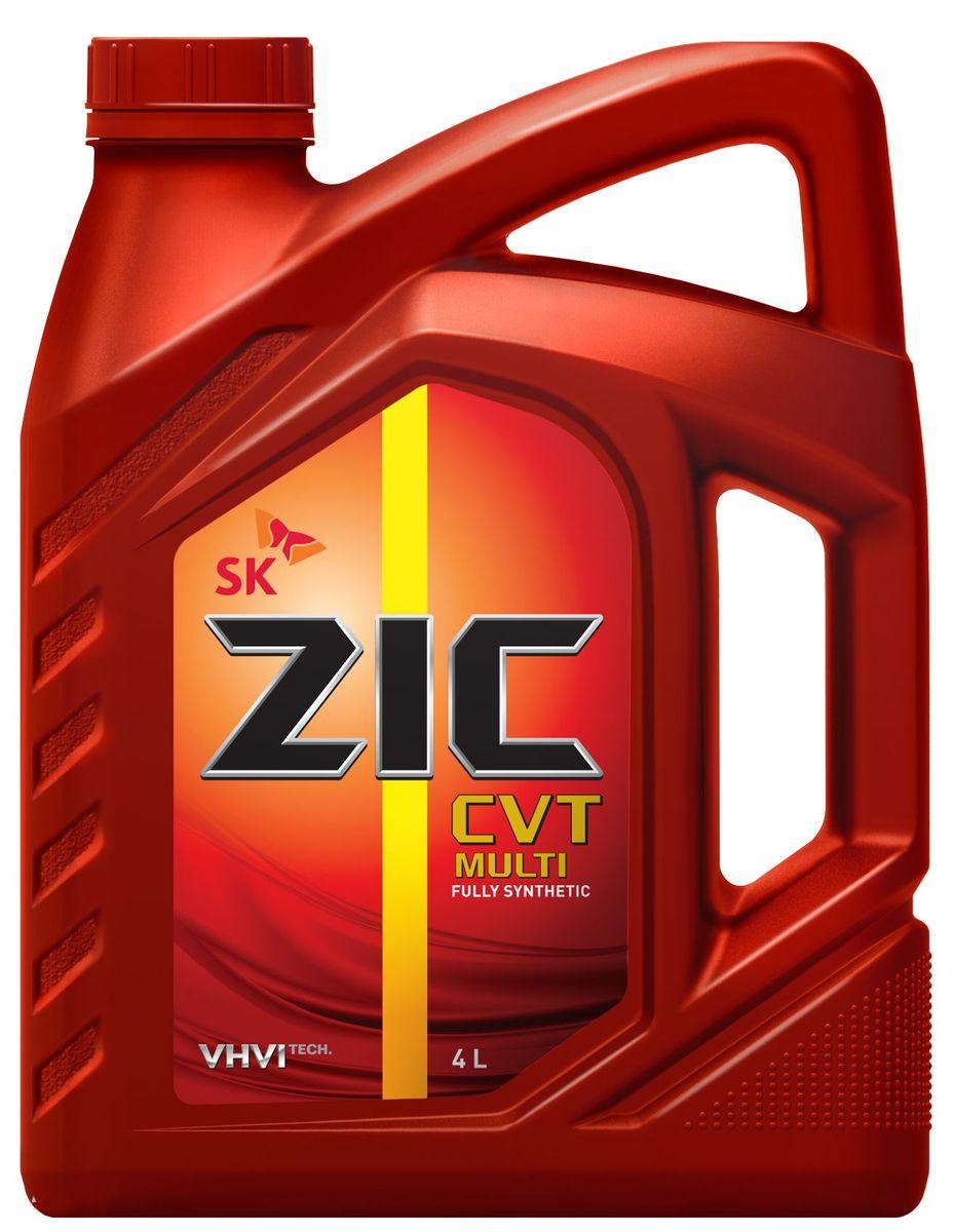 Масло трансмиссионное ZIС CVT Multi, 4 л. 162631S03301004ZIС CVT Multi - полностью синтетическое трансмиссионное масло для бесступенчатых коробок передач (CVT) как цепного, так и ременного типа. Плотность при 15°C: 0,8527 г/см3.Температура вспышки: 230°С. Температура застывания: -45°С.Индекс вязкости: 191.
