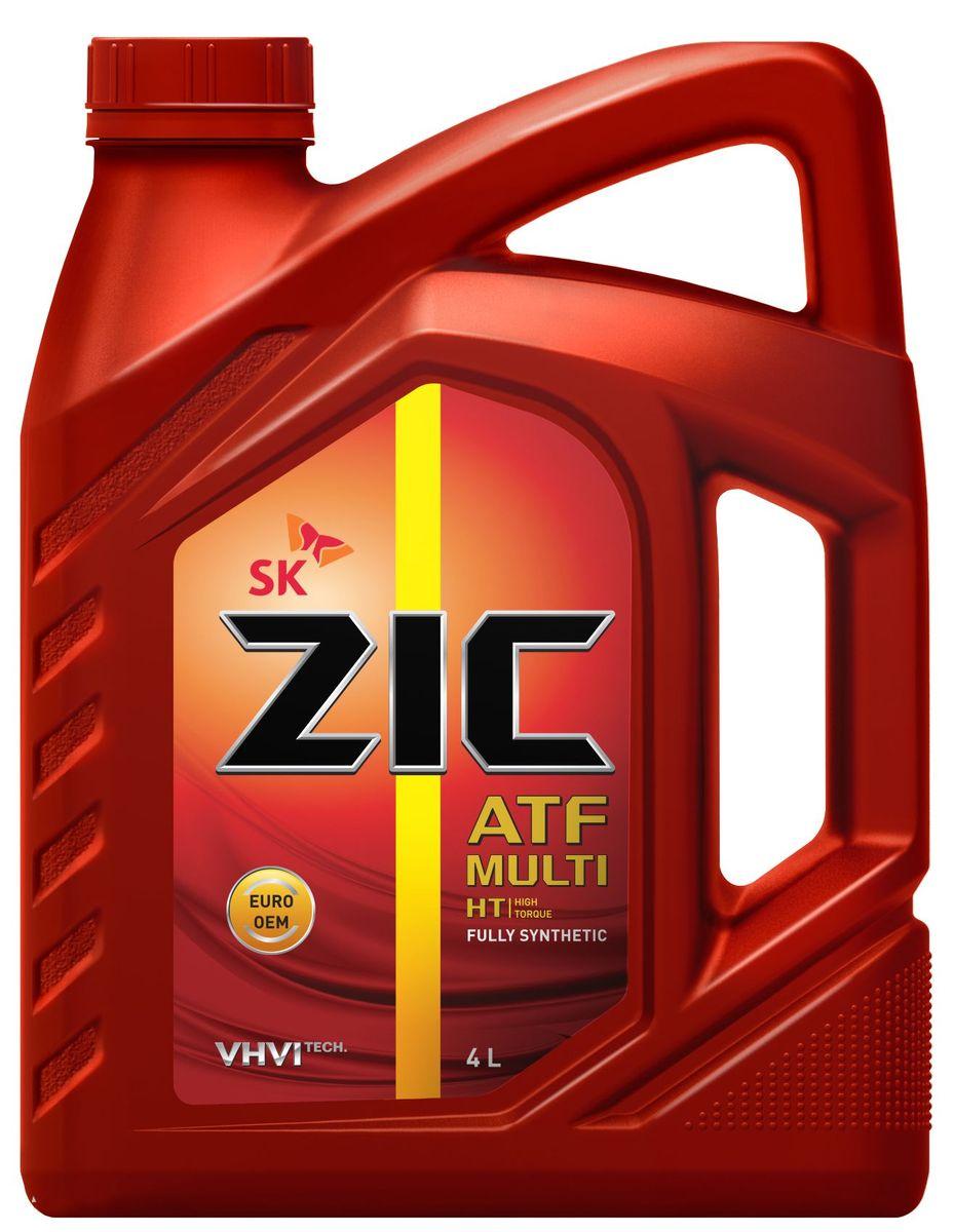 Масло трансмиссионное ZIС ATF Multi HT, 4 л. 162664S03301004ZIС ATF Multi HT - универсальное синтетическое трансмиссионное масло для автоматических коробок передач различных производителей, в том числе европейских.Плотность при 15°C: 0,85 г/см3.Температура вспышки: 212°С. Температура застывания: -45°С.Индекс вязкости: 153.