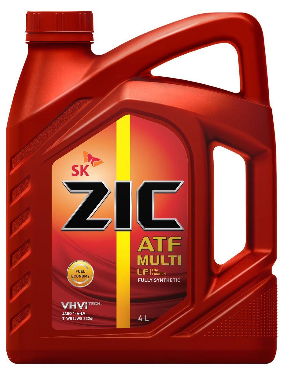 Масло трансмиссионное ZIС ATF Multi LF, 4 л. 162665162665ZIС ATF Multi LF - универсальное синтетическое трансмиссионное масло с пониженной вязкостью для автоматических коробок передач нового поколения.Плотность при 15°C: 0,85 г/см3.Температура вспышки: 208°С. Температура застывания: -51°С.Индекс вязкости: 157.