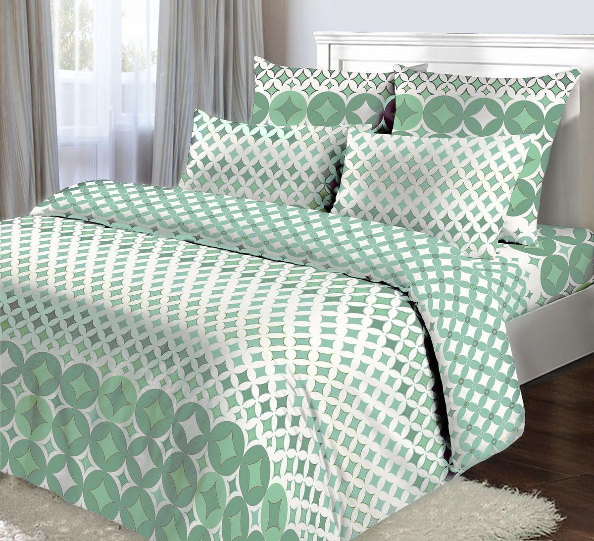 Комплект белья Коллекция Мята, 2,5-спальный, наволочки 50x70 см85262Комплект постельного белья Коллекция Мята выполнен из бязи (100% натурального хлопка). Комплект состоит из пододеяльника, простыни и двух наволочек. Постельное белье оформлено ярким красочным рисунком.Хорошая, качественная бязь всегда ценилась любителями спокойного и комфортного сна. Гладкая структура делает ткань приятной на ощупь, мягкой и нежной, при этом она прочная и хорошо сохраняет форму. Благодаря такому комплекту постельного белья вы сможете создать атмосферу роскоши и романтики в вашей спальне.