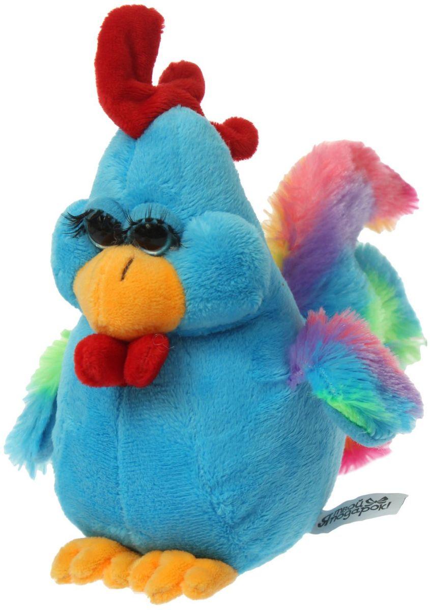 Sima-land Мягкая игрушка Радужный петушок 1294467 sima land мягкая игрушка глазастый петушок в шарфе и с бантиком
