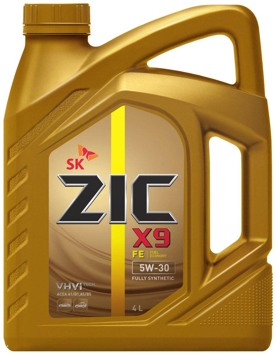Масло моторное ZIC X9 FE, синтетическое, класс вязкости 5W-30, 4 л. 16261510503ZIC X9 FE - всесезонное полностью синтетическое моторное масло премиум-класса с повышенной топливной экономичностью. Изготовлено на основе базового масла YUBASE и сбалансированного пакета современных присадок. Плотность при 15°C: 0,8528 г/см3.Температура вспышки: 226°С. Температура застывания: -42,5°С.Индекс вязкости: 170.