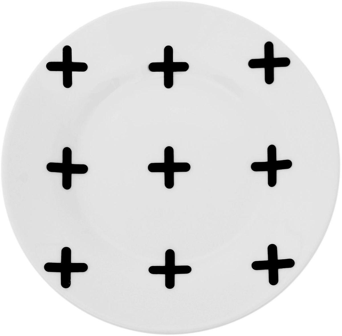 Тарелка мелкая Сотвори чудо My Little Cross, диаметр 15,5 см. 16618261661826Хотите обновить интерьер кухни или гостиной? Устраиваете необычную фотосессию или тематический праздник? А может, просто ищете подарок для близкого человека? Посуда Сотвори Чудо — правильный выбор в любой ситуации. Тарелка Сотвори Чудо, изготовленная из изящного фаянса нежного сливочного цвета, оформлена оригинальным рисунком со стойкой краской. Пригодна для посудомоечной машины.