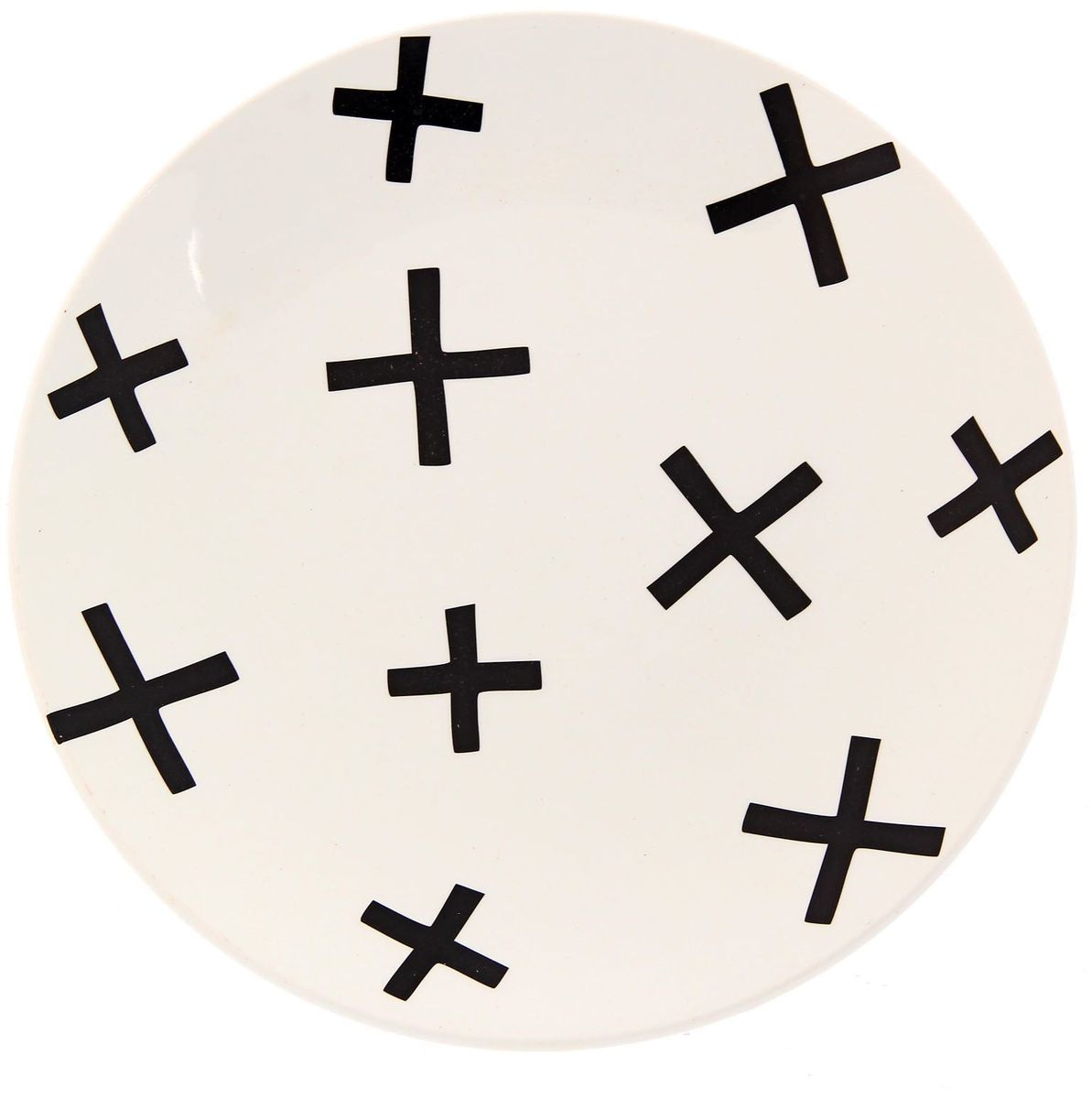 Тарелка Сотвори чудо My Little Cross, диаметр 22 см115510Хотите обновить интерьер кухни или гостиной? Устраиваете необычную фотосессию или тематический праздник? А может, просто ищете подарок для близкого человека? Посуда Сотвори Чудо — правильный выбор в любой ситуации. Тарелка Сотвори Чудо, изготовленная из изящного фаянса нежного сливочного цвета, оформлена оригинальным рисунком со стойкой краской. Пригодна для посудомоечной машины.