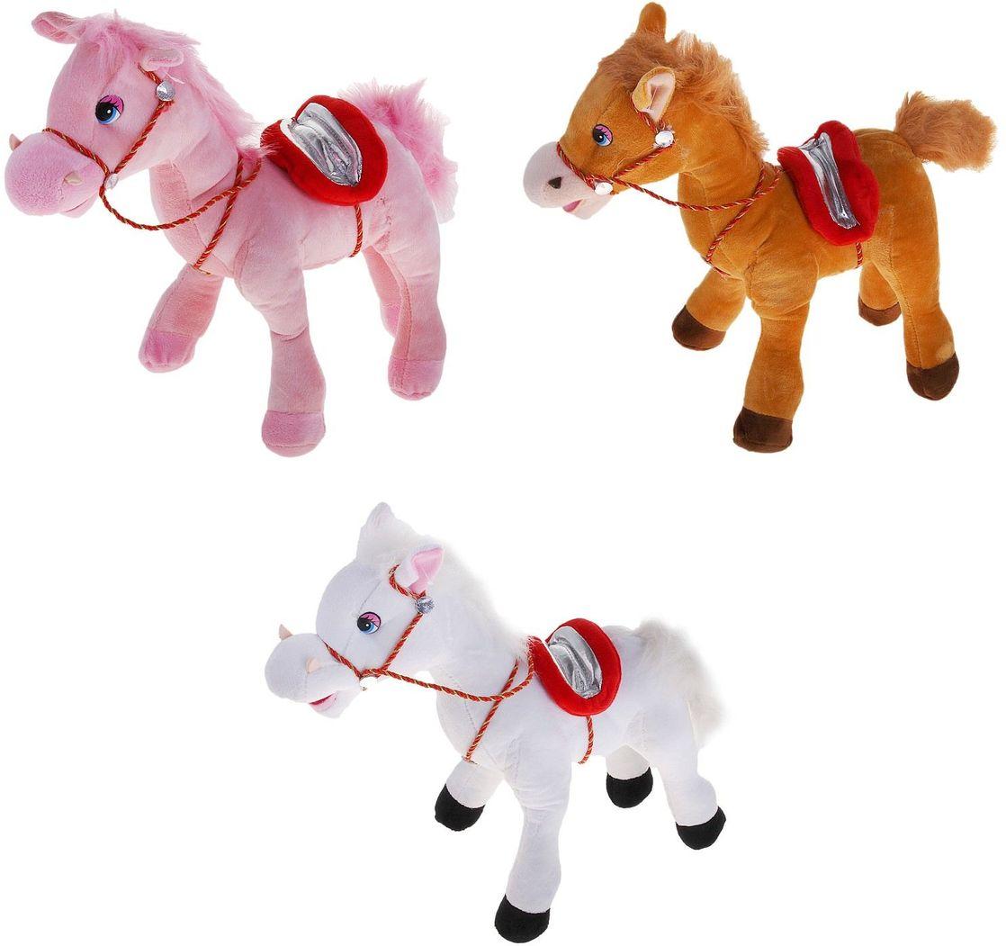 Sima-land Мягкая игрушка Лошадь с плетеной уздечкой 327522 bijoux land браслет