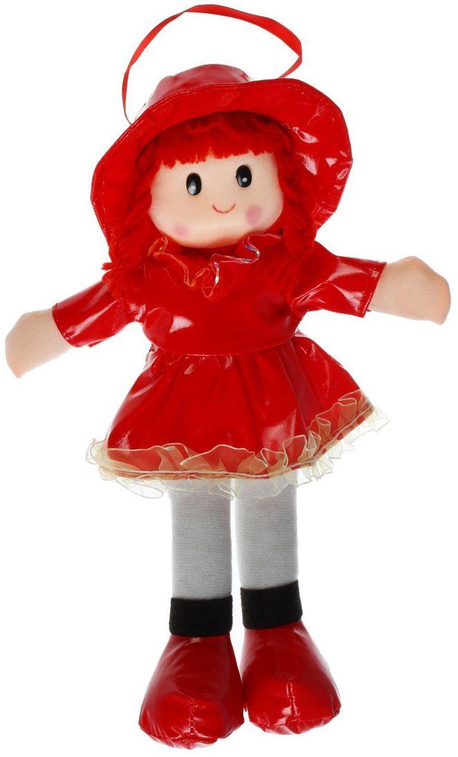 Sima-land Мягкая кукла в платье с бахромой цвет одежды красный