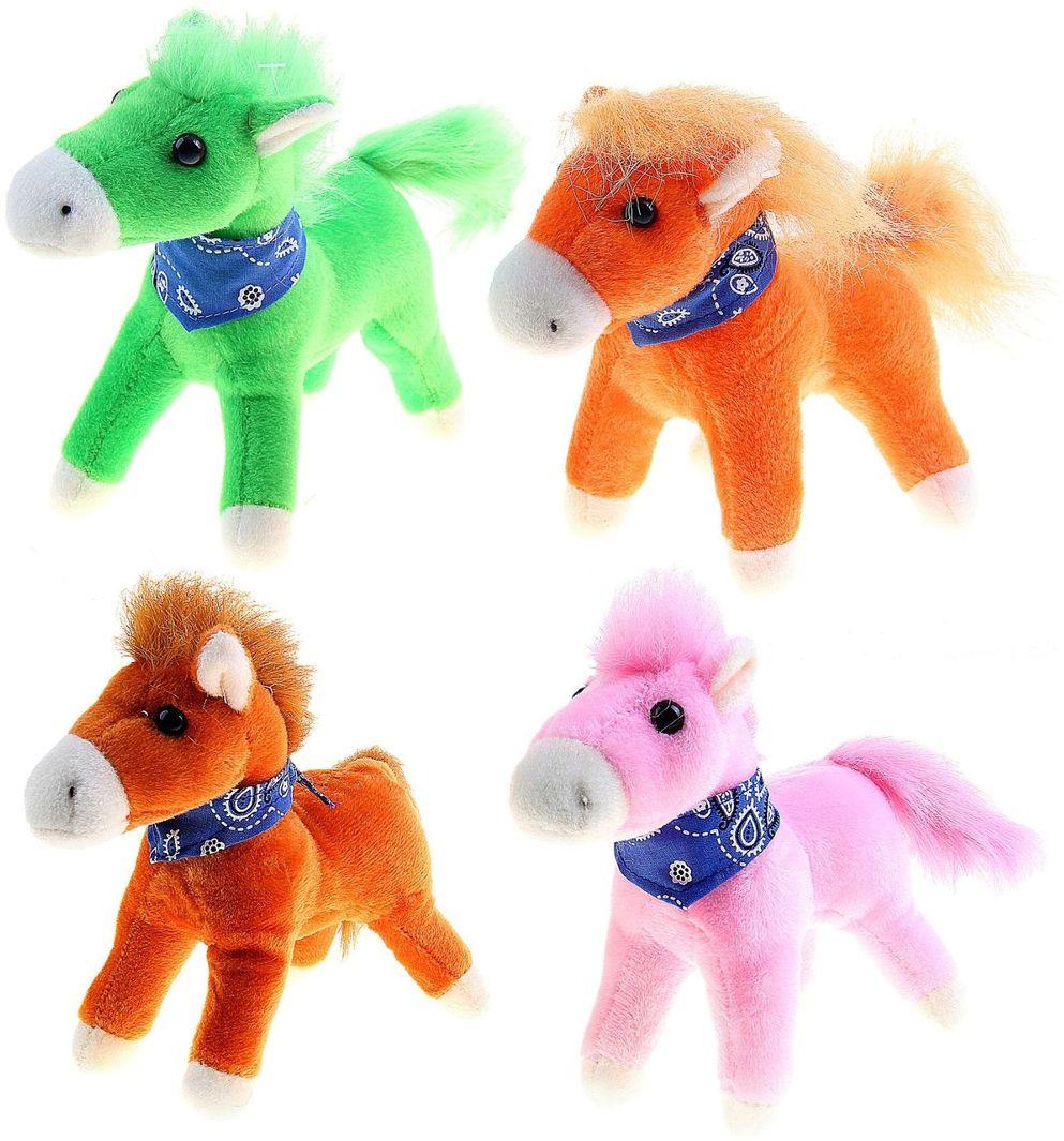 Sima-land Мягкая игрушка Лошадь с платком 328307