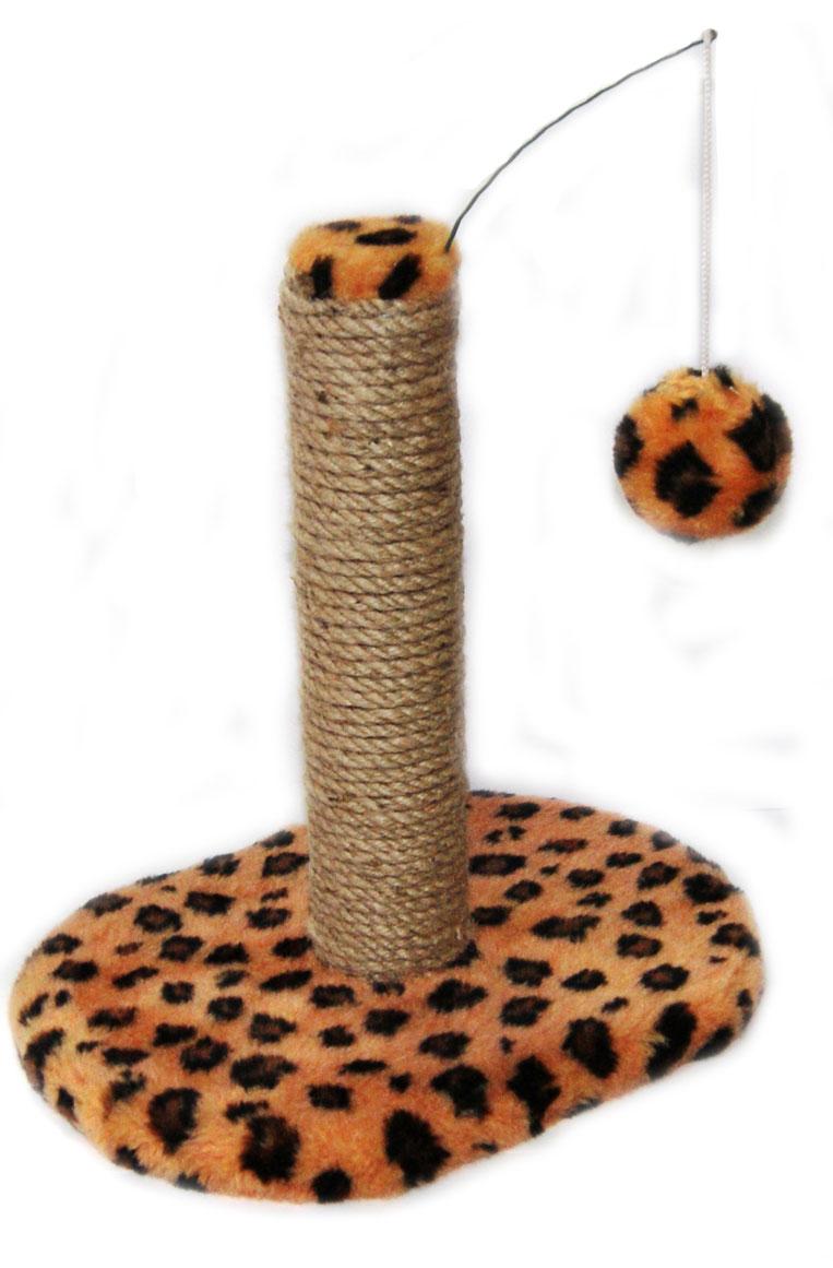 Когтеточка для котят Меридиан Леопардовая, на подставке, 30 х 24 х 35 смД342ССКогтеточка Меридиан Леопардовая на подставке предназначена для стачивания когтей вашего питомца. Изделие обтянуто искусственным мехом, а корпус выполнен из ДВП и ДСП. Когтеточка позволяет сохранить неповрежденными мебель и другие предметы интерьера.