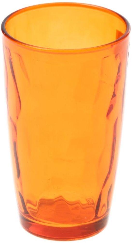 Стакан Доляна Венский вальс, цвет: оранжевый, 340 млVT-1520(SR)Стеклянные изделия серии «Венский вальс» подходят для повседневного использования. Стакан из стекла, окрашенного в яркий цвет методом напыления, порадует каждого ценителя оригинальности.Достоинства:оригинальный дизайн делает предметы украшением интерьера;материал не впитывает запахов;поверхность легко отмывается.Чтобы предметы радовали внешним видом как можно дольше, соблюдайте правила ухода:мойте только вручную;избегайте использования высокоабразивных средств и металлических губок;не допускайте падений и ударов.Окружайте себя красивой посудой и будьте в хорошем настроении!