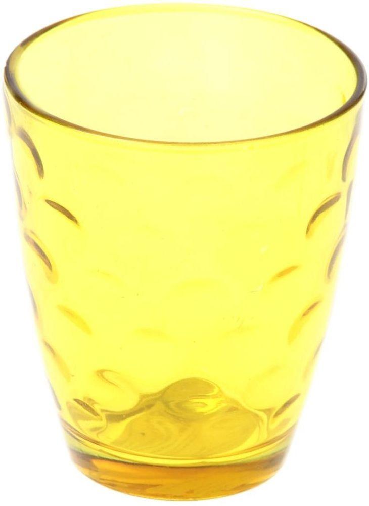 Стакан Доляна Венский вальс, цвет: желтый, 400 млVT-1520(SR)Стеклянные изделия серии «Венский вальс» подходят для повседневного использования. Стакан из стекла, окрашенного в яркий цвет методом напыления, порадует каждого ценителя оригинальности.Достоинства:оригинальный дизайн делает предметы украшением интерьера;материал не впитывает запахов;поверхность легко отмывается.Чтобы предметы радовали внешним видом как можно дольше, соблюдайте правила ухода:мойте только вручную;избегайте использования высокоабразивных средств и металлических губок;не допускайте падений и ударов.Окружайте себя красивой посудой и будьте в хорошем настроении!