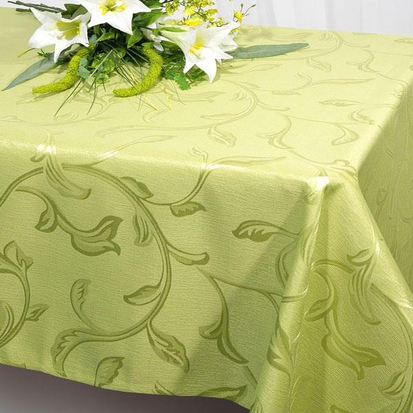 Скатерть Schaefer, прямоугольная, цвет: салатовый, 160 x 220 см. 07245-40807245-408Прямоугольная скатерть Schaefer, выполненная из полиэстера с оригинальным рисунком, станет изысканным украшением кухонного стола. За текстилем из полиэстера очень легко ухаживать: он не мнется, не садится и быстро сохнет, легко стирается, более долговечен, чем текстиль из натуральных волокон.Использование такой скатерти сделает застолье торжественным, поднимет настроение гостей и приятно удивит их вашим изысканным вкусом. Также вы можете использовать эту скатерть для повседневной трапезы, превратив каждый прием пищи в волшебный праздник и веселье. Это текстильное изделие станет изысканным украшением вашего дома!