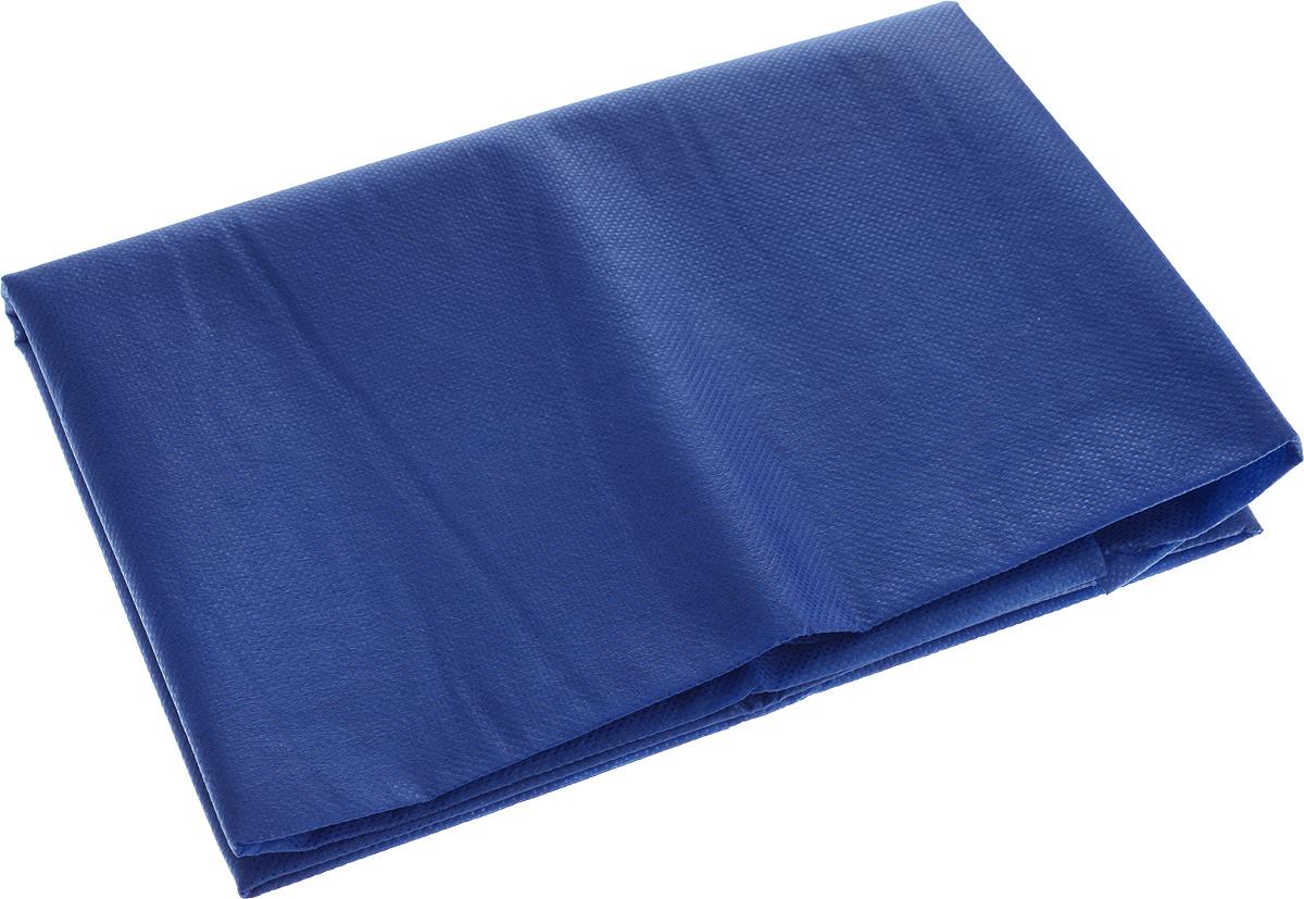 Скатерть Скатерочка, одноразовая, цвет: синий, 110 х 140 смПОС17493Одноразовая скатерть Скатерочка изготовлена из полипропилена. Предназначена для украшения стола, для проведения пикников и мероприятий. Нетканый материал препятствует образованию следов от горячей посуды. Одноразовая скатерть Скатерочка - идеальное решение для дома или дачи.Размер скатерти: 110 х 140 см.