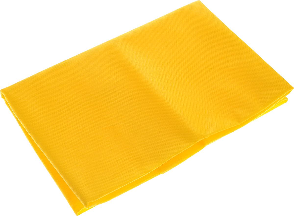 Скатерть Скатерочка, одноразовая, цвет: желтый, 110 х 140 см0910-1230Одноразовая скатерть Скатерочка изготовлена из полипропилена. Предназначена для украшения стола, для проведения пикников и мероприятий. Нетканый материал препятствует образованию следов от горячей посуды. Одноразовая скатерть Скатерочка - идеальное решение для дома или дачи.Размер скатерти: 110 х 140 см.