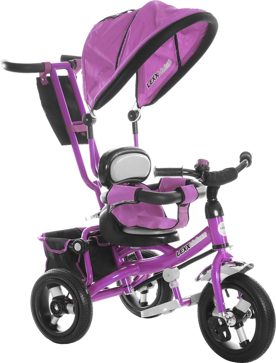 GT Велосипед-каталка GT7853 Lexx Deluxe цвет фиолетовый -  Велосипеды-каталки