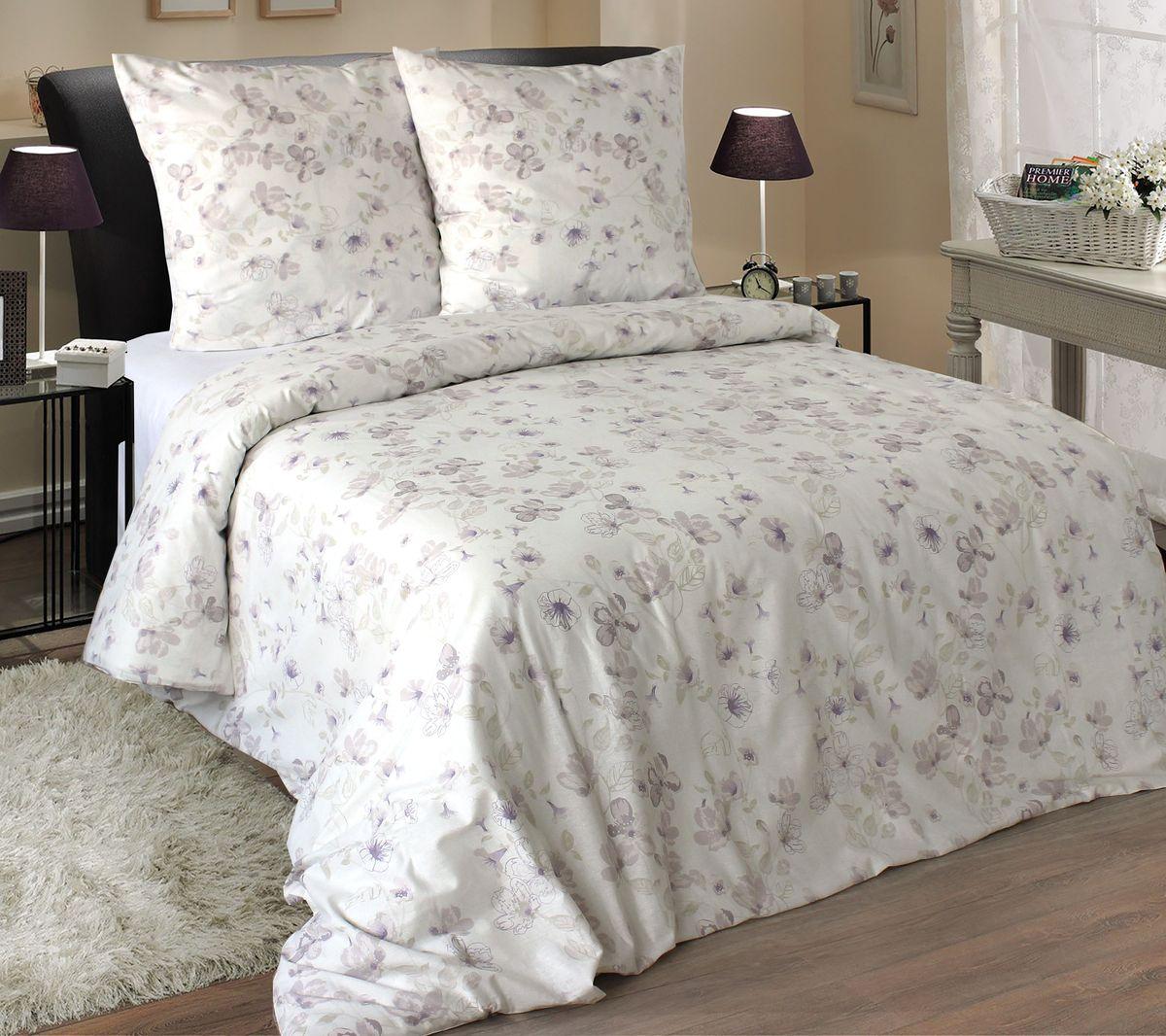 Комплект белья Коллекция Эмили 2, 1,5-спальный, наволочки 50x70 см391602Комплект постельного белья включает в себя четыре предмета: простыню, пододеяльник и две наволочки, выполненные из поплина.Размер пододеяльника: 143 x 210 см.Размер простыни: 150 x 215 см.Размер наволочек: 50 x 70 см.