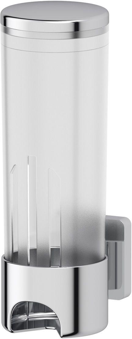 Контейнер для косметических дисков Ellux Avantgarde, цвет: хром. AVA 060900634Аксессуары торговой марки Ellux производятся на заводе ELLUX Gluck s.r.o., имеющем 20-летний опыт работы. Предприятие расположено в Злинском крае, исторически знаменитом своим промышленным потенциалом. Компоненты из всемирно известного богемского хрусталя выгодно дополняют серии аксессуаров. Широкий ассортимент, разнообразие форм, высочайшее качество исполнения и техническое?совершенство продукции отвечают самым высоким требованиям. Продукция завода Ellux представлена на российском рынке уже более 10 лет и за это время успела завоевать заслуженную популярность у покупателей, отдающих предпочтение дорогой и качественной продукции.100% made in Czech Republic Весь цикл производства изделий осуществляется на территории Чешской республики.Высококачественная латунь — дорогостоящий многокомпонентный медный сплав с основным легирующим элементом – цинком. Обладает высокой прочностью и коррозионной стойкостью. Считается лучшим материалом для изготовления аксессуаров, смесителей и другого сантехнического оборудования.Гарантия 15 лет. Длительный срок службы подтверждается 15-ти летней гарантией производителя при условии правильной эксплуатации.Проверенное временем качество продукции завода ELLUX Gluck s.r.o. позволяет производителю гарантировать длительный срок ее эксплуатации. Надежное крепление аксессуаров к стене обусловлено использованием качественных и прочных материалов крепежных элементов и хорошо продуманной конструкцией, разработанной с учетом возможных нагрузок.Премиум качество. Находясь в более доступном ценовом сегменте, аксессуары торговой марки ELLUX обладают всеми качествами продукции PREMIUMПроизведено в Чехии. Завод ELLUX Gluck s.r.o. — единственный производитель аксессуаров на территории Чешской Республики.В производстве аксессуаров используется высокосортная латунь, которая является идеальным материалом для эксплуатации в условиях повышенной влажности. Технически совершенные констру