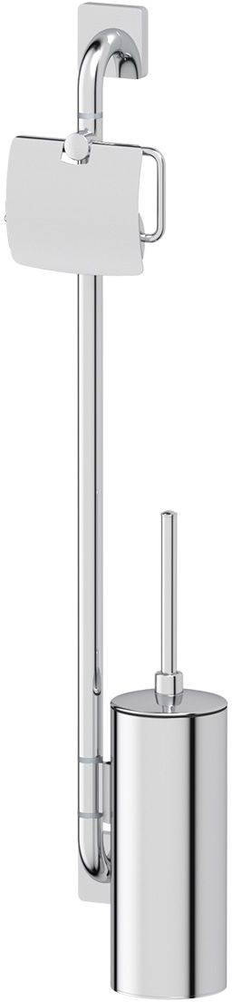 Штанга комбинированная для туалета Ellux Avantgarde, цвет: хром. AVA 077G79-80Аксессуары торговой марки Ellux производятся на заводе ELLUX Gluck s.r.o., имеющем 20-летний опыт работы. Предприятие расположено в Злинском крае, исторически знаменитом своим промышленным потенциалом. Компоненты из всемирно известного богемского хрусталя выгодно дополняют серии аксессуаров. Широкий ассортимент, разнообразие форм, высочайшее качество исполнения и техническое?совершенство продукции отвечают самым высоким требованиям. Продукция завода Ellux представлена на российском рынке уже более 10 лет и за это время успела завоевать заслуженную популярность у покупателей, отдающих предпочтение дорогой и качественной продукции.100% made in Czech Republic Весь цикл производства изделий осуществляется на территории Чешской республики.Высококачественная латунь — дорогостоящий многокомпонентный медный сплав с основным легирующим элементом – цинком. Обладает высокой прочностью и коррозионной стойкостью. Считается лучшим материалом для изготовления аксессуаров, смесителей и другого сантехнического оборудования.Гарантия 15 лет. Длительный срок службы подтверждается 15-ти летней гарантией производителя при условии правильной эксплуатации.Проверенное временем качество продукции завода ELLUX Gluck s.r.o. позволяет производителю гарантировать длительный срок ее эксплуатации. Комбинированные штанги и стойки позволяют использовать необходимые аксессуары, сокращая количество отверстий при монтаже. Аксессуары устанавливаются в поворотные крепления, чем достигается компактность конструкции и функциональность её эксплуатации.Надежное крепление аксессуаров к стене обусловлено использованием качественных и прочных материалов крепежных элементов и хорошо продуманной конструкцией, разработанной с учетом возможных нагрузок.Премиум качество. Находясь в более доступном ценовом сегменте, аксессуары торговой марки ELLUX обладают всеми качествами продукции PREMIUMПроизведено в Чехии. Завод ELLUX Gluck s.r.o. — еди