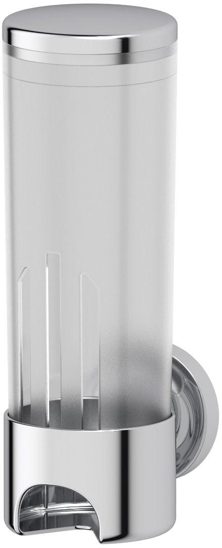 Контейнер для косметических дисков Ellux Elegance, цвет: хром. ELE 060G95-40Аксессуары торговой марки Ellux производятся на заводе ELLUX Gluck s.r.o., имеющем 20-летний опыт работы. Предприятие расположено в Злинском крае, исторически знаменитом своим промышленным потенциалом. Компоненты из всемирно известного богемского хрусталя выгодно дополняют серии аксессуаров. Широкий ассортимент, разнообразие форм, высочайшее качество исполнения и техническое?совершенство продукции отвечают самым высоким требованиям. Продукция завода Ellux представлена на российском рынке уже более 10 лет и за это время успела завоевать заслуженную популярность у покупателей, отдающих предпочтение дорогой и качественной продукции.100% made in Czech Republic Весь цикл производства изделий осуществляется на территории Чешской республики.Высококачественная латунь — дорогостоящий многокомпонентный медный сплав с основным легирующим элементом – цинком. Обладает высокой прочностью и коррозионной стойкостью. Считается лучшим материалом для изготовления аксессуаров, смесителей и другого сантехнического оборудования.Гарантия 15 лет. Длительный срок службы подтверждается 15-ти летней гарантией производителя при условии правильной эксплуатации.Проверенное временем качество продукции завода ELLUX Gluck s.r.o. позволяет производителю гарантировать длительный срок ее эксплуатации. Надежное крепление аксессуаров к стене обусловлено использованием качественных и прочных материалов крепежных элементов и хорошо продуманной конструкцией, разработанной с учетом возможных нагрузок.Премиум качество. Находясь в более доступном ценовом сегменте, аксессуары торговой марки ELLUX обладают всеми качествами продукции PREMIUMПроизведено в Чехии. Завод ELLUX Gluck s.r.o. — единственный производитель аксессуаров на территории Чешской Республики.В производстве аксессуаров используется высокосортная латунь, которая является идеальным материалом для эксплуатации в условиях повышенной влажности. Технически совершенные конструкц