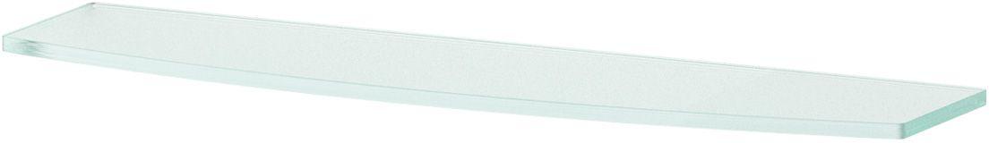 Полка для ванной Ellux, 50 см, для ELE 033, цвет: матовое стекло. ELU 015SWR-023Аксессуары торговой марки Ellux производятся на заводе ELLUX Gluck s.r.o., имеющем 20-летний опыт работы. Предприятие расположено в Злинском крае, исторически знаменитом своим промышленным потенциалом. Компоненты из всемирно известного богемского хрусталя выгодно дополняют серии аксессуаров. Широкий ассортимент, разнообразие форм, высочайшее качество исполнения и техническое?совершенство продукции отвечают самым высоким требованиям. Продукция завода Ellux представлена на российском рынке уже более 10 лет и за это время успела завоевать заслуженную популярность у покупателей, отдающих предпочтение дорогой и качественной продукции.100% made in Czech Republic Весь цикл производства изделий осуществляется на территории Чешской республики.В производстве полок используется высококачественное матированное стекло марки Satinovo Mate Clear.Saint-Gobain Glass признанный мировой лидер в производстве высококачественного стекла, поэтому для производства стеклянных полок применяется матовое стекло «Satinovo Mate Clear» 8 мм именно этого производителя.Стеклянные полки производятся из высококачественного матового стекла 8 мм «Satinovo Mate Clear» завода Saint-Gobain Glass Deutschland GMBH. Остальные стеклянные компоненты изготовлены из богемского хрусталя фабрики Crystal Bohemia, a.s.Варианты комплектации. Покупателям предоставляется возможность выбирать хрустальные компоненты (стакан, мыльница, дозатор жидкого мыла) в матовом и прозрачном исполнении. Обратите внимание, что хрустальные колбы туалетного ерша и стеклянные полки предлагаются только в матовом исполнении.Проверенное временем качество продукции завода ELLUX Gluck s.r.o. позволяет производителю гарантировать длительный срок ее эксплуатации. Премиум качество. Находясь в более доступном ценовом сегменте, аксессуары торговой марки ELLUX обладают всеми качествами продукции PREMIUMПроизведено в Чехии. Завод ELLUX Gluck s.r.o. — единственный произво