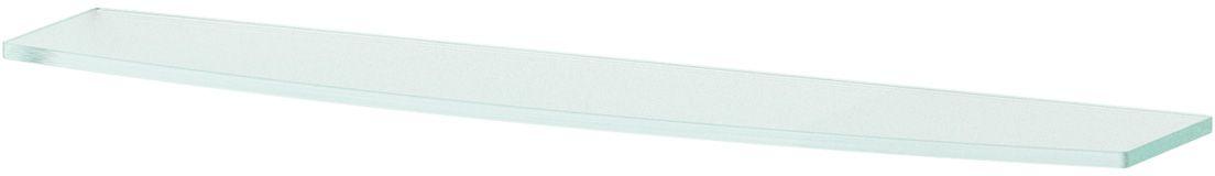 Полка для ванной Ellux, 60 см, для ELE 033, цвет: матовое стекло. ELU 017ELU 017Аксессуары торговой марки Ellux производятся на заводе ELLUX Gluck s.r.o., имеющем 20-летний опыт работы. Предприятие расположено в Злинском крае, исторически знаменитом своим промышленным потенциалом. Компоненты из всемирно известного богемского хрусталя выгодно дополняют серии аксессуаров. Широкий ассортимент, разнообразие форм, высочайшее качество исполнения и техническое?совершенство продукции отвечают самым высоким требованиям. Продукция завода Ellux представлена на российском рынке уже более 10 лет и за это время успела завоевать заслуженную популярность у покупателей, отдающих предпочтение дорогой и качественной продукции.100% made in Czech Republic Весь цикл производства изделий осуществляется на территории Чешской республики.В производстве полок используется высококачественное матированное стекло марки Satinovo Mate Clear.Saint-Gobain Glass признанный мировой лидер в производстве высококачественного стекла, поэтому для производства стеклянных полок применяется матовое стекло «Satinovo Mate Clear» 8 мм именно этого производителя.Стеклянные полки производятся из высококачественного матового стекла 8 мм «Satinovo Mate Clear» завода Saint-Gobain Glass Deutschland GMBH. Остальные стеклянные компоненты изготовлены из богемского хрусталя фабрики Crystal Bohemia, a.s.Варианты комплектации. Покупателям предоставляется возможность выбирать хрустальные компоненты (стакан, мыльница, дозатор жидкого мыла) в матовом и прозрачном исполнении. Обратите внимание, что хрустальные колбы туалетного ерша и стеклянные полки предлагаются только в матовом исполнении.Проверенное временем качество продукции завода ELLUX Gluck s.r.o. позволяет производителю гарантировать длительный срок ее эксплуатации. Премиум качество. Находясь в более доступном ценовом сегменте, аксессуары торговой марки ELLUX обладают всеми качествами продукции PREMIUMПроизведено в Чехии. Завод ELLUX Gluck s.r.o. — единственный произво