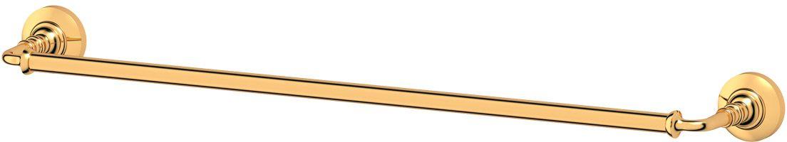 Держатель полотенец 3SC Stilmar, 60 см, цвет: золото. STI 213RYN 015Дизайн коллекций компании 3SC оригинален и узнаваем. Цель дизайнеров — находить равновесие между эстетикой и функциональностью. Это обдуманная четкая философия, которая проходит через все процессы производства мастерской региона Тоскана.Многолетний опыт, воплощение социальных и культурных традиций, а также постоянный поиск новых решений?– все это сконцентрировано в коллекциях 3SC. Особенное внимание уделяется декоративной отделке изделий, которая выполнена умелыми руками настоящих итальянских мастеров. Разнообразие стилей позволяет удовлетворить различные вкусы клиента от «классики» до «хай-тек», давая возможность гармонично сочетать аксессуары с зеркалами и освещением.