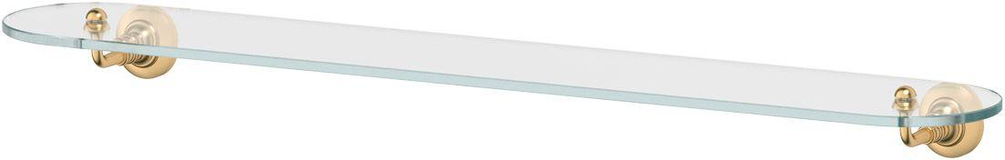 Полка для ванной 3SC Stilmar, 80 см, цвет: матовое золото. STI 316282057Дизайн коллекций компании 3SC оригинален и узнаваем. Цель дизайнеров — находить равновесие между эстетикой и функциональностью. Это обдуманная четкая философия, которая проходит через все процессы производства мастерской региона Тоскана.Многолетний опыт, воплощение социальных и культурных традиций, а также постоянный поиск новых решений?– все это сконцентрировано в коллекциях 3SC. Особенное внимание уделяется декоративной отделке изделий, которая выполнена умелыми руками настоящих итальянских мастеров. Разнообразие стилей позволяет удовлетворить различные вкусы клиента от «классики» до «хай-тек», давая возможность гармонично сочетать аксессуары с зеркалами и освещением.