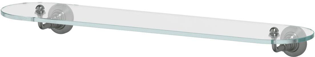 Полка для ванной 3SC  Stilmar , 60 см, цвет: античное серебро. STI 415 - Полки и стеллажи