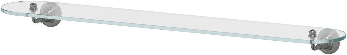 Полка для ванной 3SC Stilmar, 80 см, цвет: античное серебро. STI 416282100Дизайн коллекций компании 3SC оригинален и узнаваем. Цель дизайнеров — находить равновесие между эстетикой и функциональностью. Это обдуманная четкая философия, которая проходит через все процессы производства мастерской региона Тоскана.Многолетний опыт, воплощение социальных и культурных традиций, а также постоянный поиск новых решений?– все это сконцентрировано в коллекциях 3SC. Особенное внимание уделяется декоративной отделке изделий, которая выполнена умелыми руками настоящих итальянских мастеров. Разнообразие стилей позволяет удовлетворить различные вкусы клиента от «классики» до «хай-тек», давая возможность гармонично сочетать аксессуары с зеркалами и освещением.