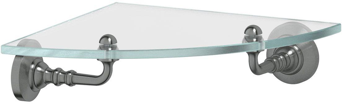 Полка для ванной 3SC Stilmar, цвет: античное серебро. STI 418RYN 003Дизайн коллекций компании 3SC оригинален и узнаваем. Цель дизайнеров — находить равновесие между эстетикой и функциональностью. Это обдуманная четкая философия, которая проходит через все процессы производства мастерской региона Тоскана.Многолетний опыт, воплощение социальных и культурных традиций, а также постоянный поиск новых решений?– все это сконцентрировано в коллекциях 3SC. Особенное внимание уделяется декоративной отделке изделий, которая выполнена умелыми руками настоящих итальянских мастеров. Разнообразие стилей позволяет удовлетворить различные вкусы клиента от «классики» до «хай-тек», давая возможность гармонично сочетать аксессуары с зеркалами и освещением.