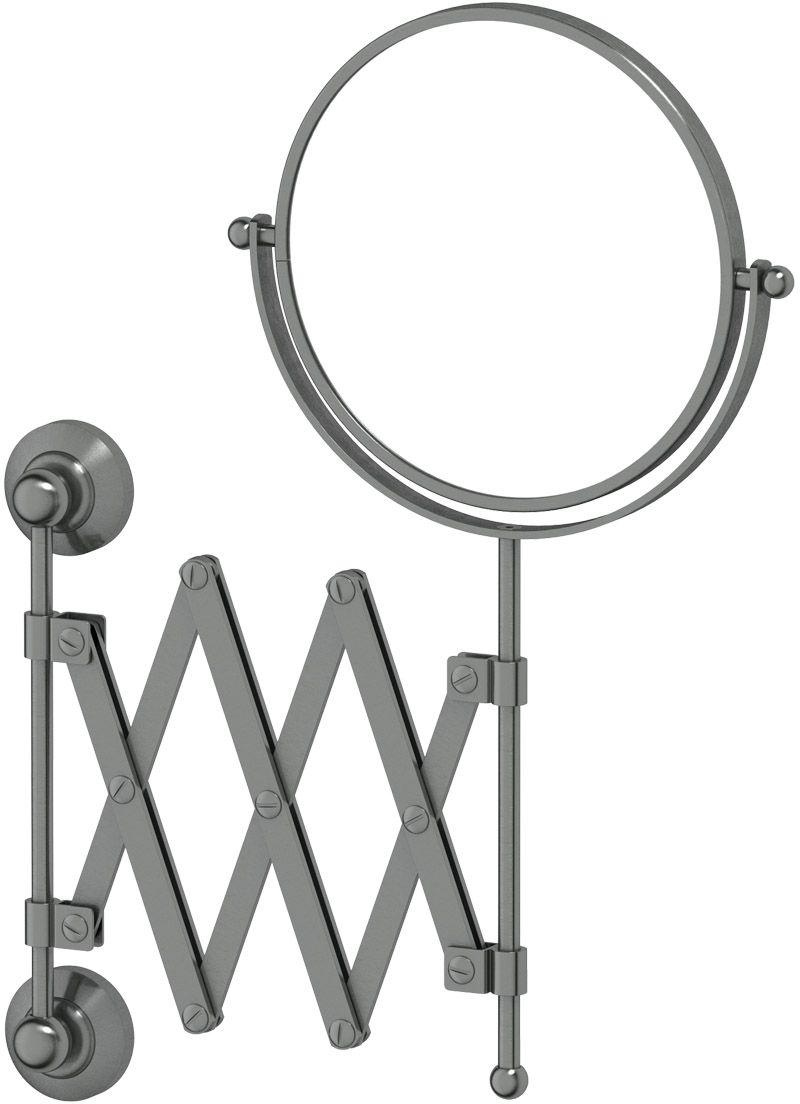 Зеркало косметическое для ванны 3SC  Stilmar , цвет: античное серебро. STI 420 - Мебель