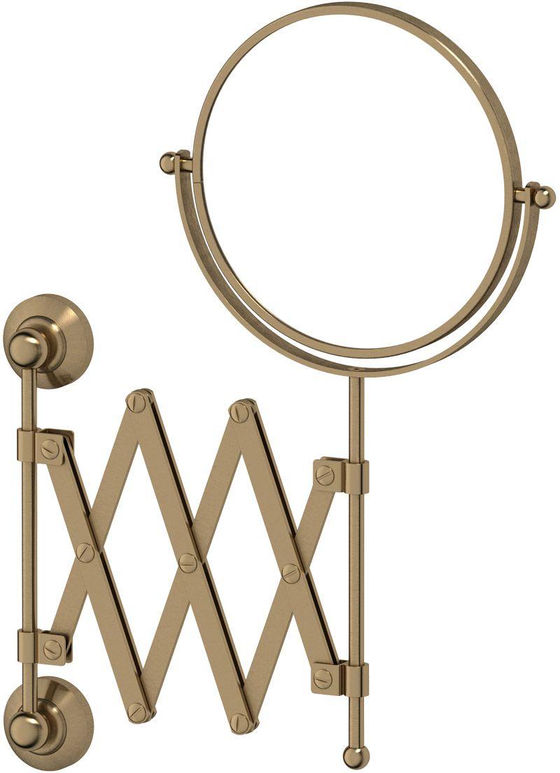 Зеркало косметическое для ванны 3SC Stilmar, цвет: античная бронза. STI 520116724Дизайн коллекций компании 3SC оригинален и узнаваем. Цель дизайнеров — находить равновесие между эстетикой и функциональностью. Это обдуманная четкая философия, которая проходит через все процессы производства мастерской региона Тоскана.Многолетний опыт, воплощение социальных и культурных традиций, а также постоянный поиск новых решений?– все это сконцентрировано в коллекциях 3SC. Особенное внимание уделяется декоративной отделке изделий, которая выполнена умелыми руками настоящих итальянских мастеров. Разнообразие стилей позволяет удовлетворить различные вкусы клиента от «классики» до «хай-тек», давая возможность гармонично сочетать аксессуары с зеркалами и освещением.