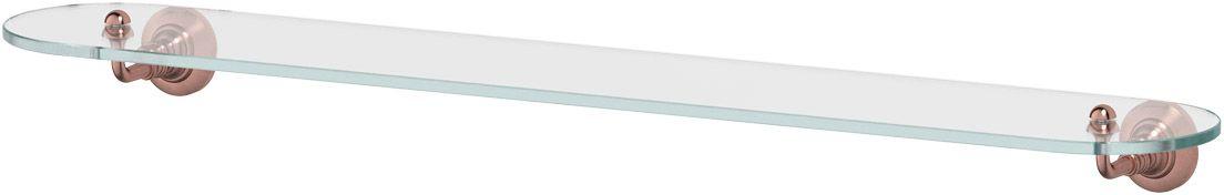 Полка для ванной 3SC Stilmar, 80 см, цвет: античная медь. STI 616282134Дизайн коллекций компании 3SC оригинален и узнаваем. Цель дизайнеров — находить равновесие между эстетикой и функциональностью. Это обдуманная четкая философия, которая проходит через все процессы производства мастерской региона Тоскана.Многолетний опыт, воплощение социальных и культурных традиций, а также постоянный поиск новых решений?– все это сконцентрировано в коллекциях 3SC. Особенное внимание уделяется декоративной отделке изделий, которая выполнена умелыми руками настоящих итальянских мастеров. Разнообразие стилей позволяет удовлетворить различные вкусы клиента от «классики» до «хай-тек», давая возможность гармонично сочетать аксессуары с зеркалами и освещением.