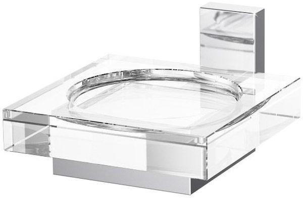 Держатель с мыльницей Lineag Tiffany, цвет: хром. TIF 005SWP-0700WH-DВ течение 20 лет компания Lineag разрабатывает и производит эксклюзивные аксессуары для ванной комнаты, используя современные технологии и высококачественные материалы. Каждый продукт Lineag произведен исключительно в Италии. Изысканный дизайн аксессуаров Lineag создает уникальную атмосферу уюта и роскоши в вашей ванной.