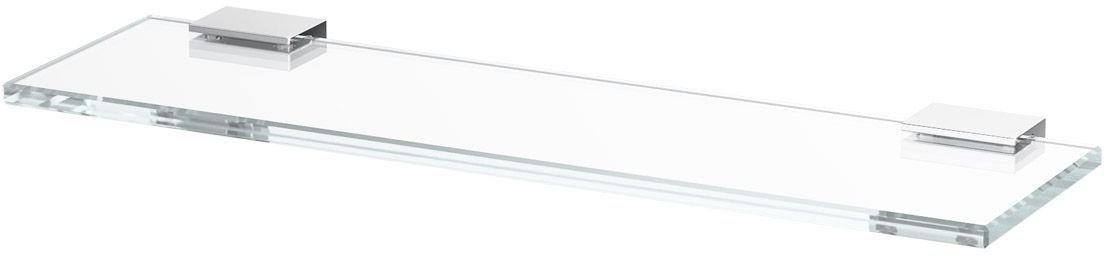 Полка для ванной Lineag Tiffany, 40 см, цвет: хром. TIF 010LUX 041В течение 20 лет компания Lineag разрабатывает и производит эксклюзивные аксессуары для ванной комнаты, используя современные технологии и высококачественные материалы. Каждый продукт Lineag произведен исключительно в Италии. Изысканный дизайн аксессуаров Lineag создает уникальную атмосферу уюта и роскоши в вашей ванной.