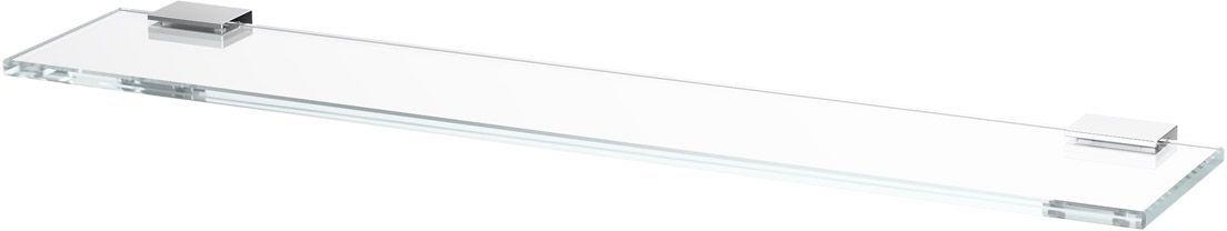 Полка для ванной Lineag Tiffany, 60 см, цвет: хром. TIF 011LUX 048В течение 20 лет компания Lineag разрабатывает и производит эксклюзивные аксессуары для ванной комнаты, используя современные технологии и высококачественные материалы. Каждый продукт Lineag произведен исключительно в Италии. Изысканный дизайн аксессуаров Lineag создает уникальную атмосферу уюта и роскоши в вашей ванной.